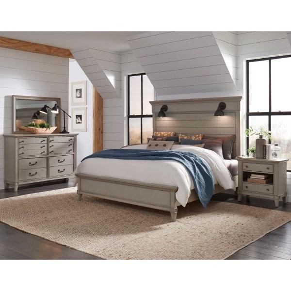Sausalito King Bedroom Group by Samuel Lawrence at Carolina Direct