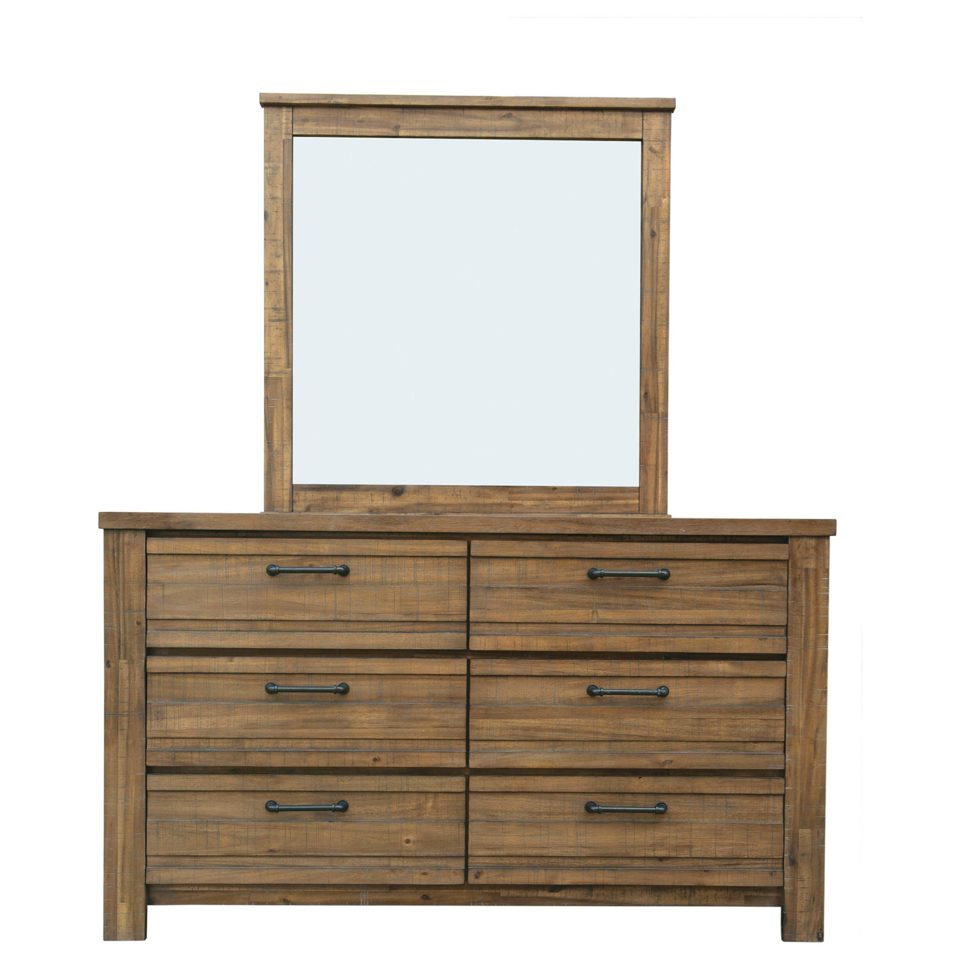 SoHo Dresser and Mirror Combo by Samuel Lawrence at Carolina Direct
