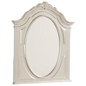 Shaped Dresser Mirror