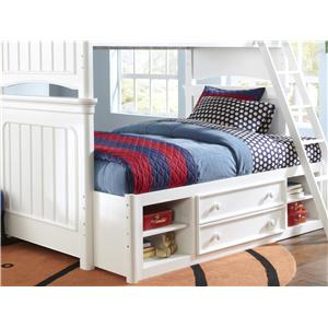 Samuel Lawrence SummerTime Youth Summertime Bunk Bed with Storage