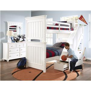 Samuel Lawrence SummerTime Youth Summertime Twin Bunk Bed