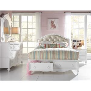 Samuel Lawrence SweetHeart Youth Full Upholstered Bed