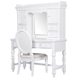 Samuel Lawrence SweetHeart Youth Desk and Hutch