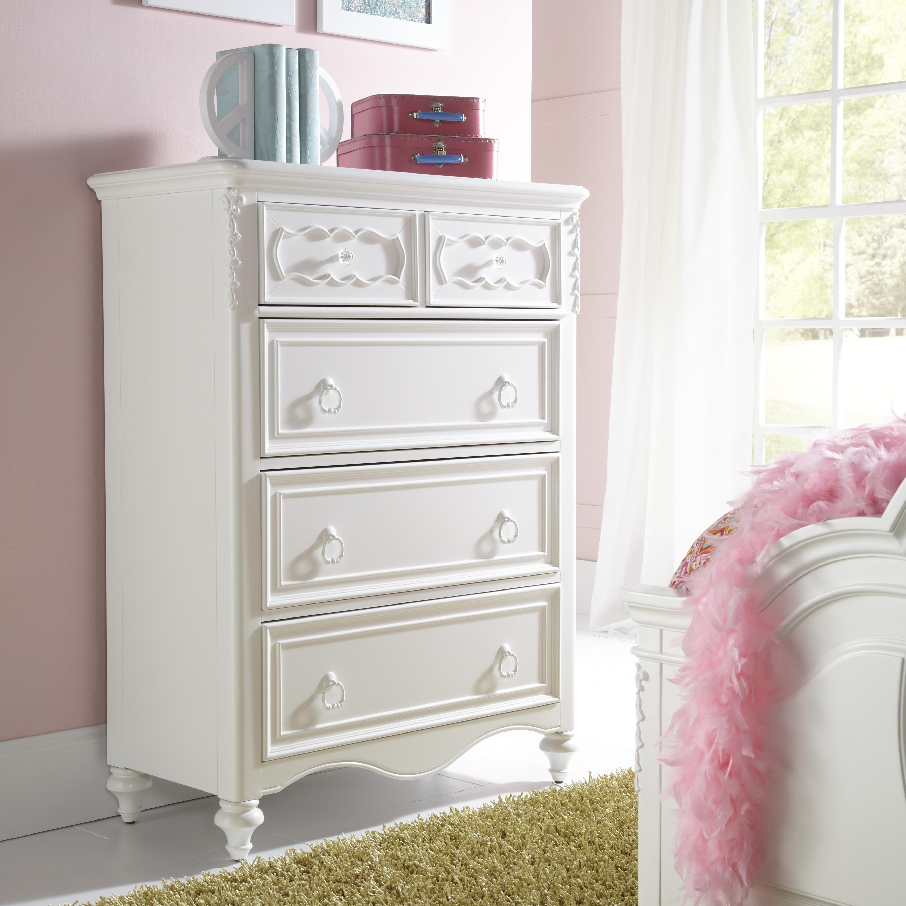 SweetHeart Youth Drawer Chest by Samuel Lawrence at Carolina Direct