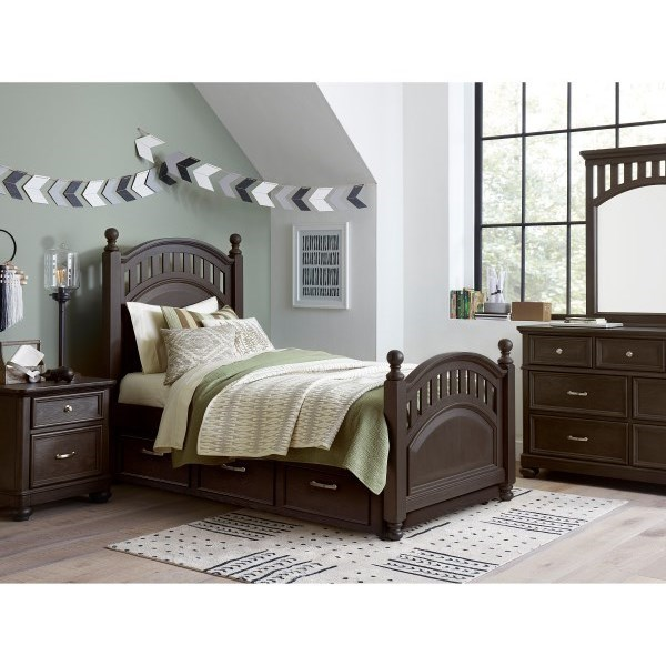 Tundra Twin Bedroom Group by Samuel Lawrence at Carolina Direct