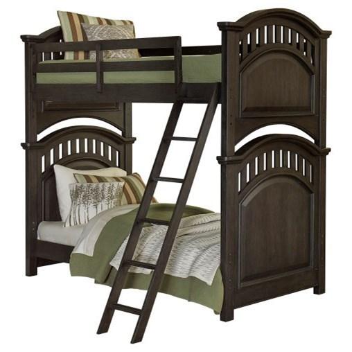 Tundra Twin Bunk Bed by Samuel Lawrence at Carolina Direct