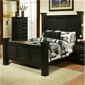 Sandberg Furniture Granada  Queen Estate Bed
