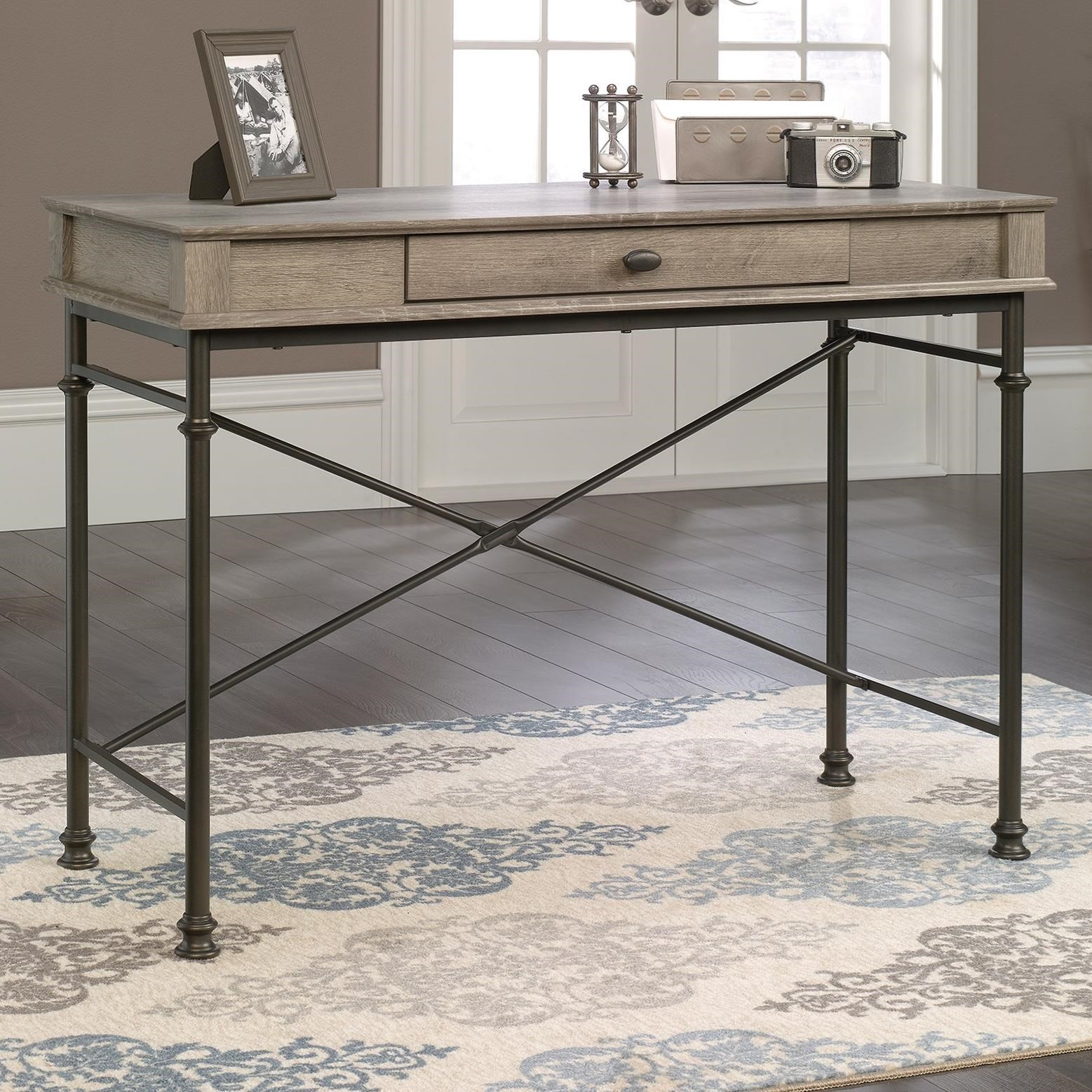 Canal Street Console Desk by Sauder at Darvin Furniture
