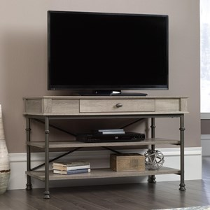TV Stand with Metal Frame