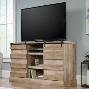 Credenza/TV Stand with Barn Doors