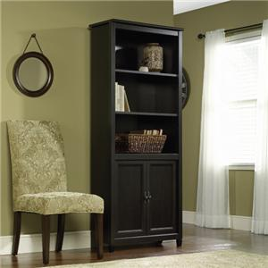 Library Bookcase With 2 Doors
