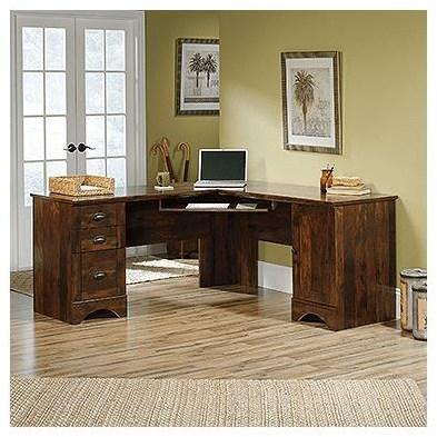 Harbor View Corner Desk by Sauder at Darvin Furniture