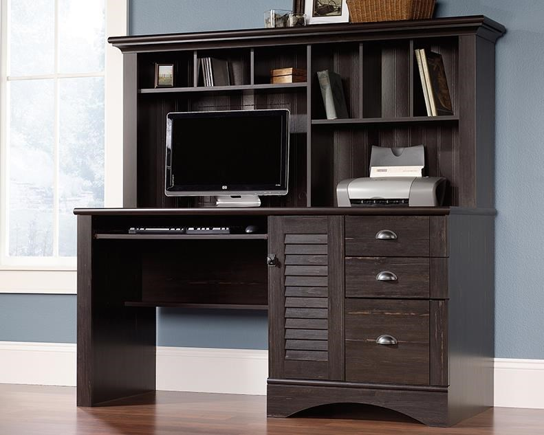 Computer Desk with Hutch Package