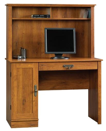 Harvest Mill Computer Desk With Hutch by Sauder at Westrich Furniture & Appliances