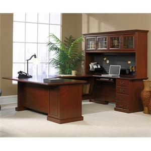 Sauder Heritage Hill Double Pedestal Executive Desk