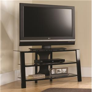"40"" Glass Panel TV Stand"