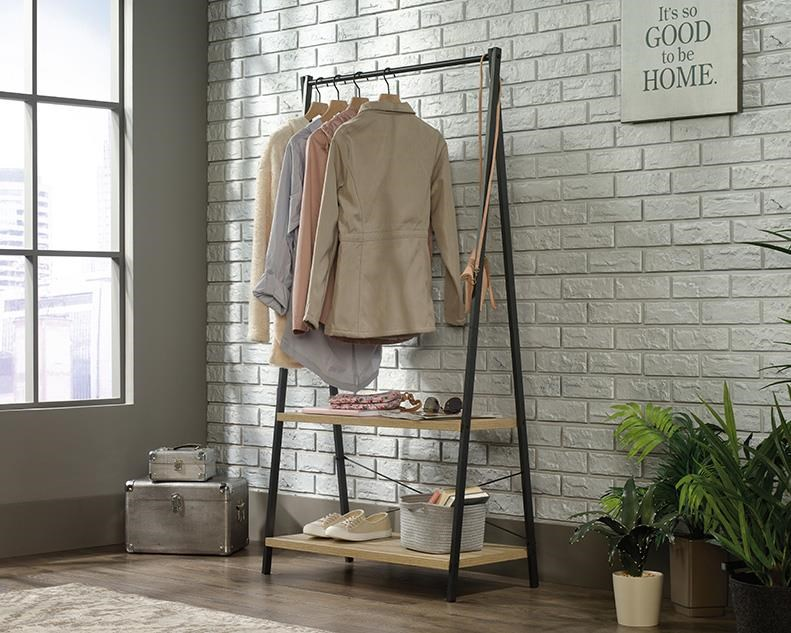 North Avenue Wardrobe Rack by Sauder at Red Knot