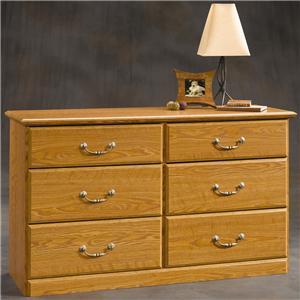 Sauder Orchard Hills 6-Drawer Dresser