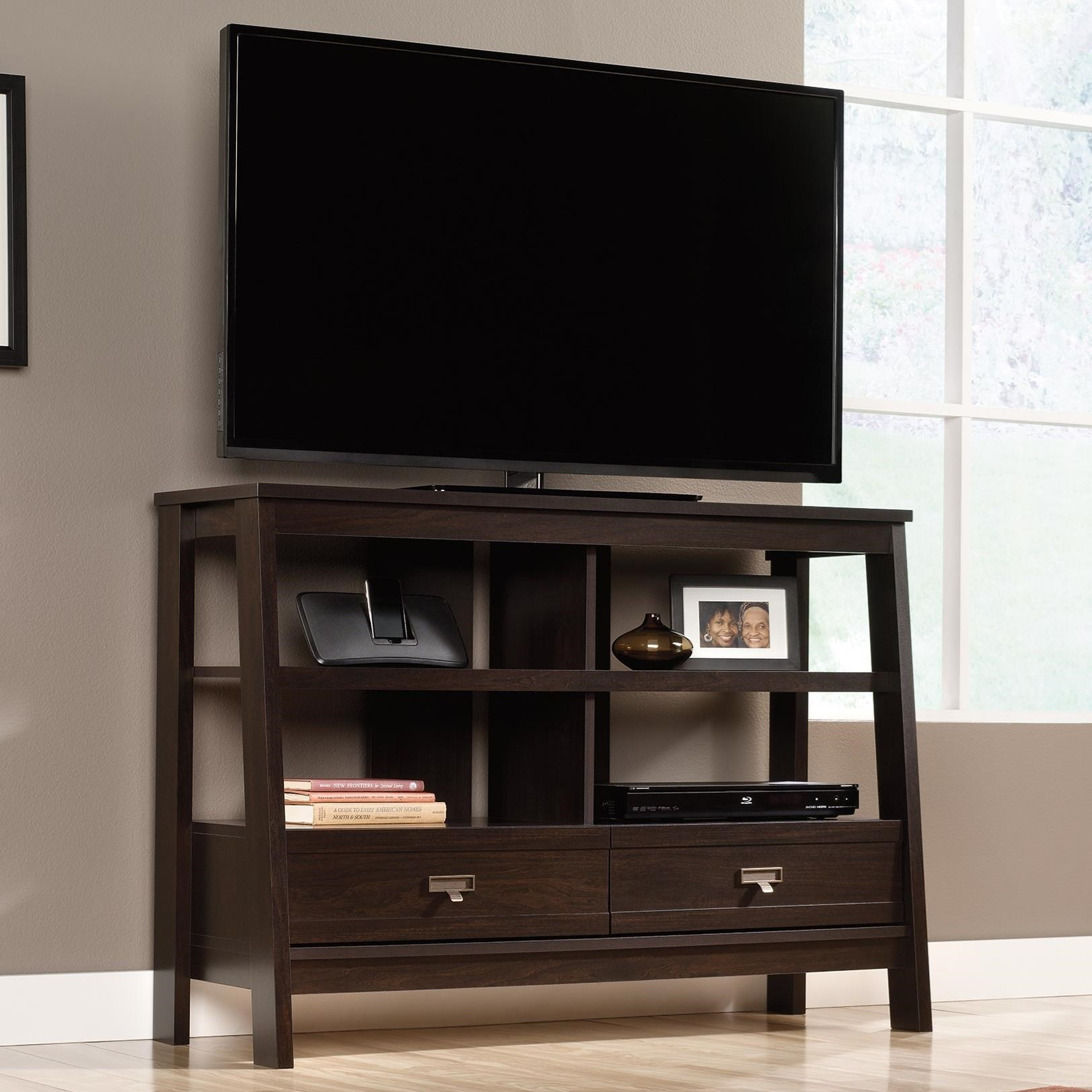 Select Anywhere Console by Sauder at Westrich Furniture & Appliances
