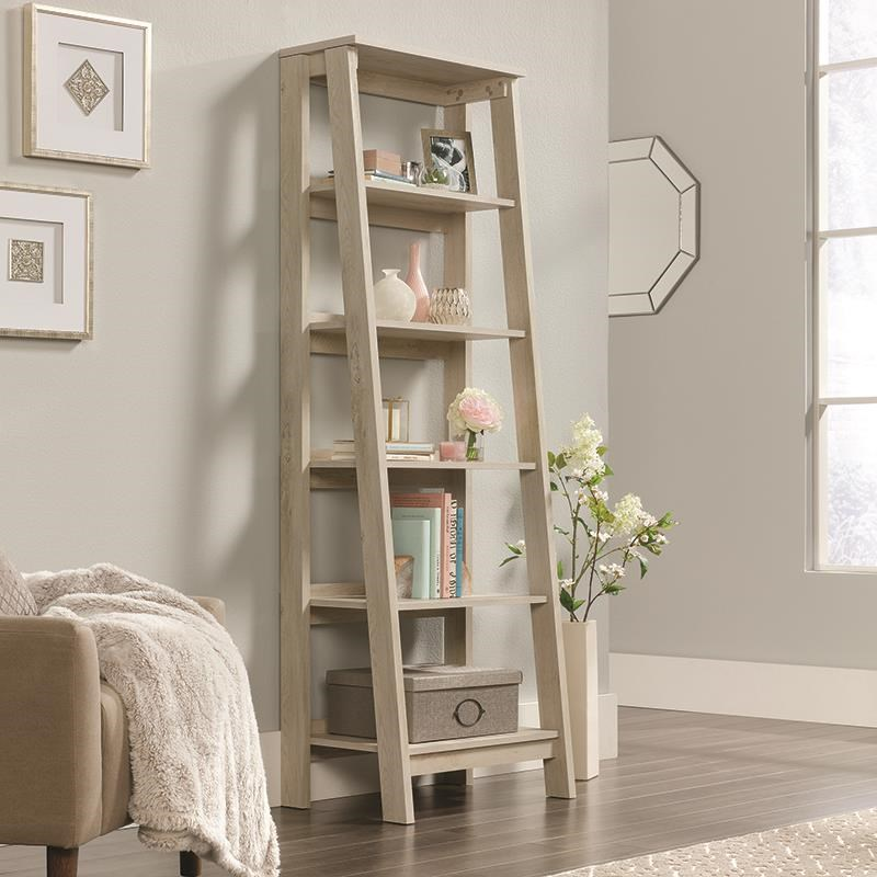 Select Angled 5 Shelf Bookcase by Sauder at Darvin Furniture