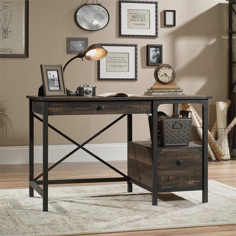 Steel River Desk by Sauder at Darvin Furniture