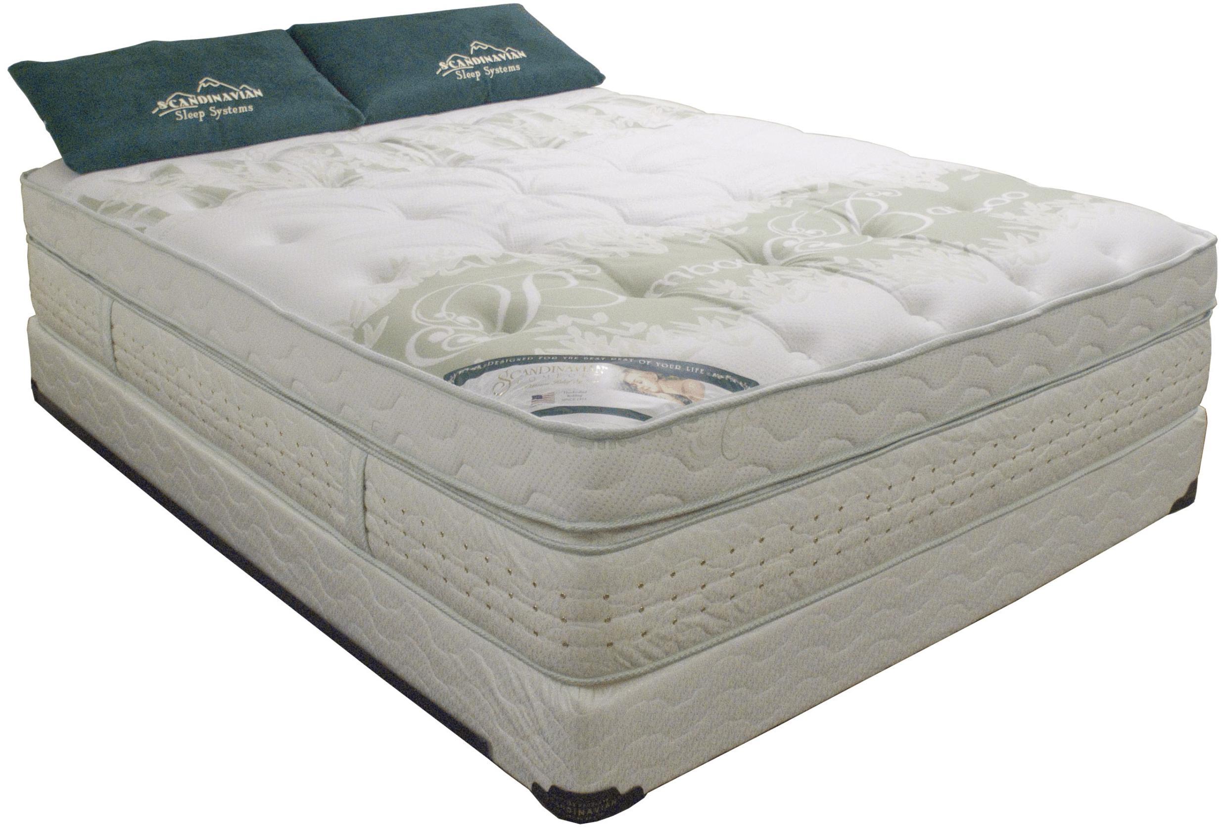 60th Anniversary Queen Foam Mattress Set by Scandinavian Bedding at Lagniappe Home Store