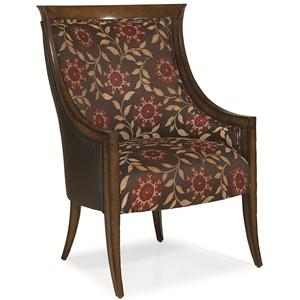 Caracole Home American Kaleidoscope Wing Chair