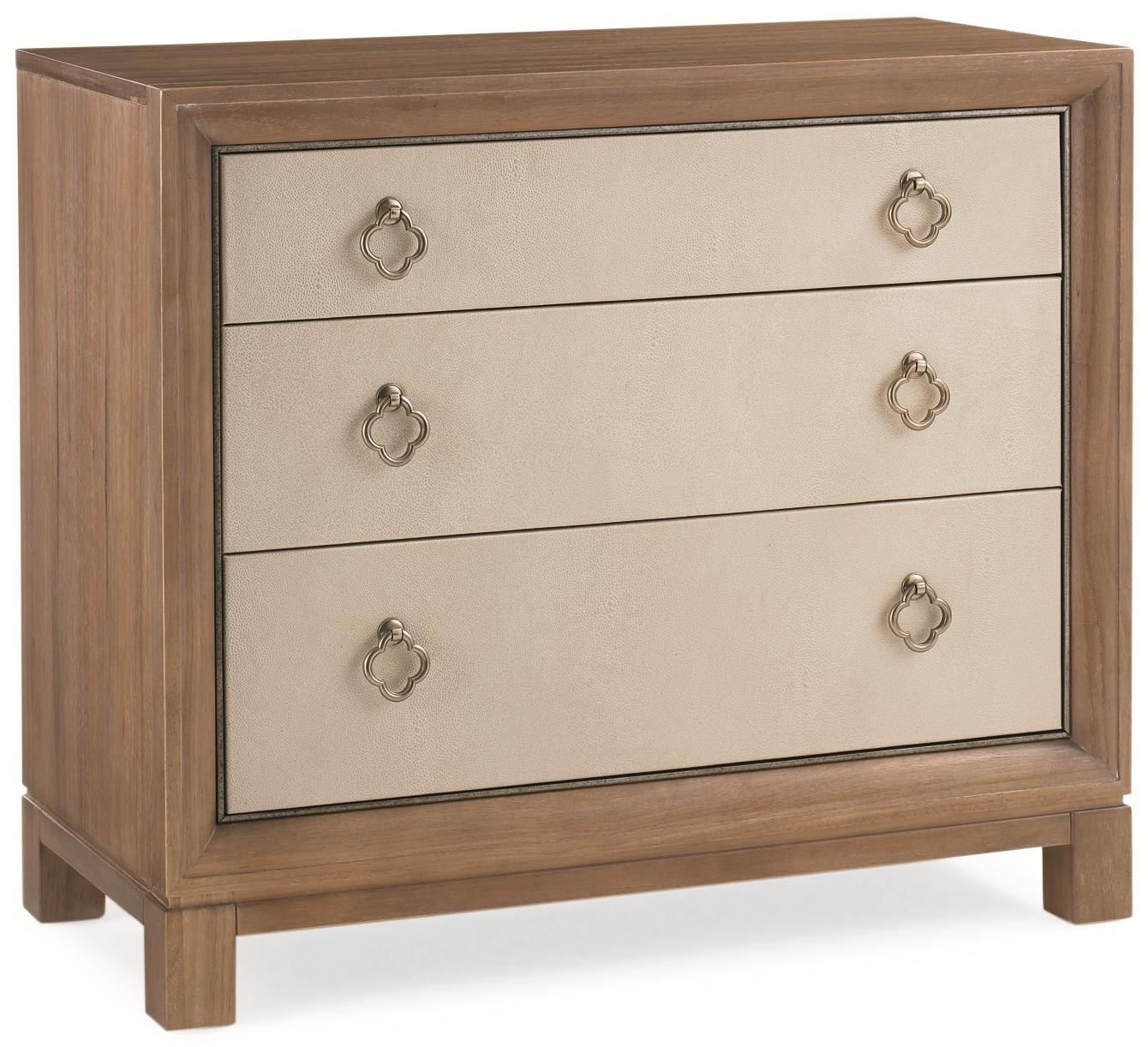 """Caracole Classic """"Glam-More"""" & """"Much to My Shagreen"""" Nightsta by Caracole at Baer's Furniture"""