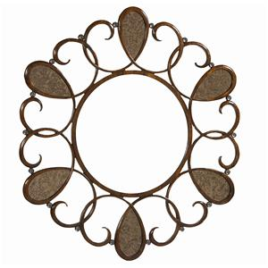 "Kaleidescope Home Caracole - Classic ""Love Knots"" Accent Mirror"