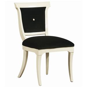 """Kaleidescope Home Caracole - Classic """"The Party Chair"""" Side Chair"""