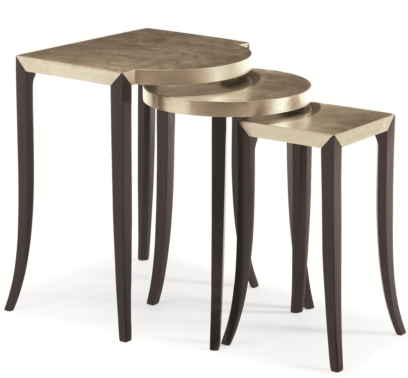 """Caracole Classic """"Out & About"""" Nesting Tables by Caracole at Baer's Furniture"""