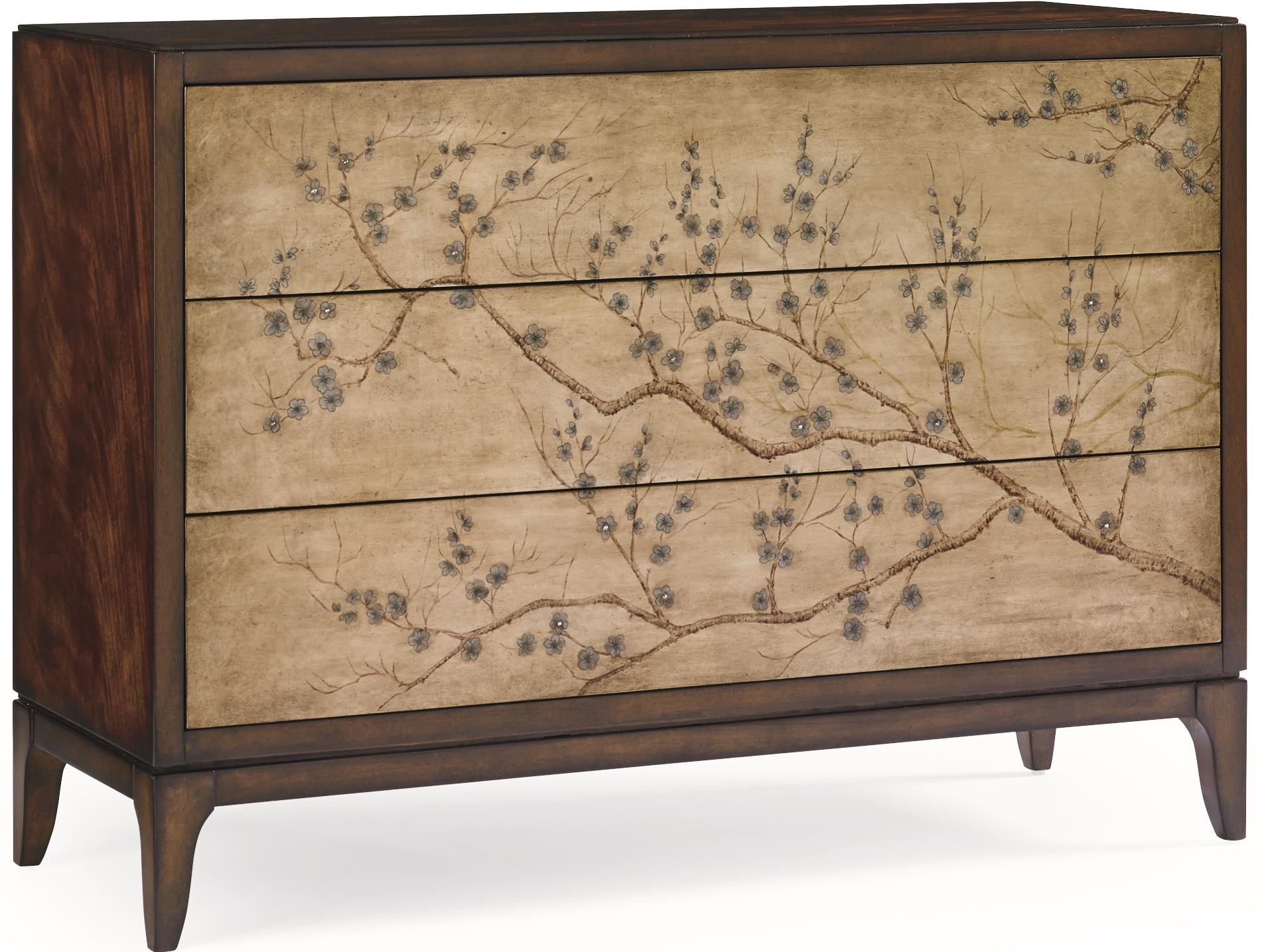 Caracole Classic Awesome Blossom Accent Chest by Caracole at Baer's Furniture