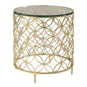 Bubbly End Table and Bunching Cocktail