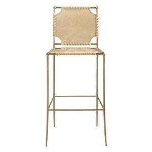 Schnadig Modern Artisan In Stitches Bar Stool