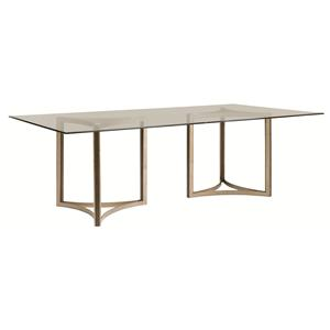 Schnadig Modern Artisan In the Clear Dining Table