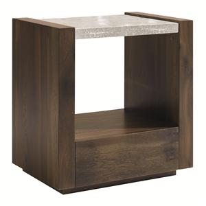 Schnadig Modern Artisan Best in Glass Nightstand