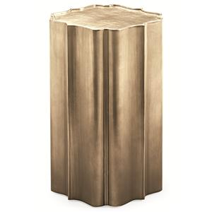 "Schnadig Caracole - New Traditional ""Gold is Up"" Side Table"