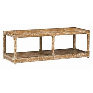 """Caracole Home Caracole - New Traditional """"Pine-ing for You"""" Cocktail Table"""