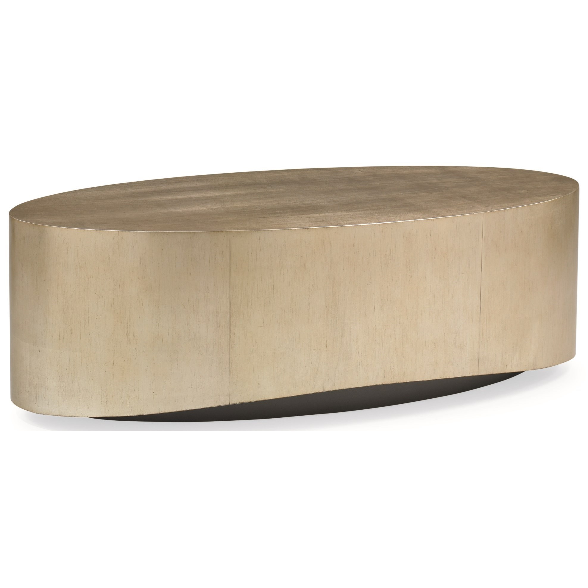 New Traditional Come Oval Here Cocktail Table by Caracole at Baer's Furniture