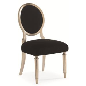 "Schnadig Caracole - New Traditional ""Chit Chat"" Dining Side Chair"