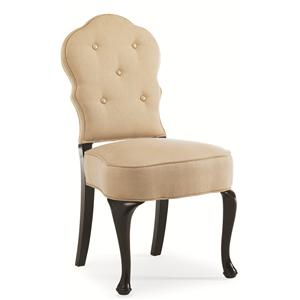 "Caracole Home Caracole - New Traditional  ""Girlie Girl"" Side Chair Side Chair"