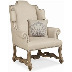 Schnadig Outside In Exquisitely Elegant Brighton Wood Chair