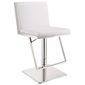 Contemporary Upholstered Bar Stool