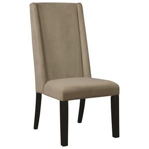 Demi-Wing Parson Chair