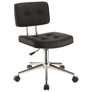 Armless Modern Office Chair