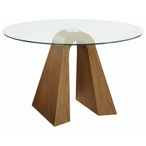 Sculptural Round Dining Table