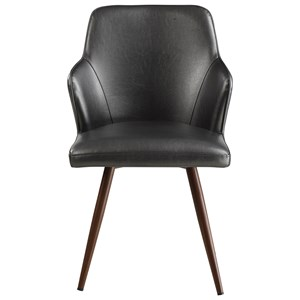 Demi Arm Dining Chair Leatherette