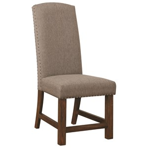 Parson Chair with Nailhead Trim