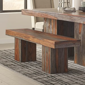 Sheesham Rustic Dining Bench
