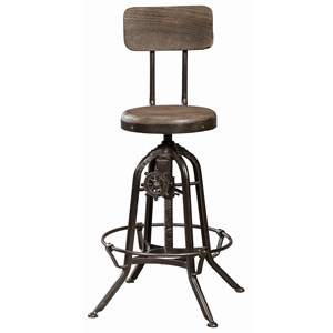 Industrial Adjustable Drafting Stool